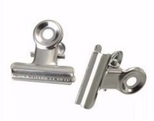 """Presilha Grande de metal para curvatura """"C"""" - 2 unidades"""