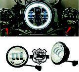 Farol Auxiliar LED - 4.5'' - PAR - VKNI00543 - VRodKings