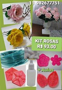 Kit frisadores Rosas