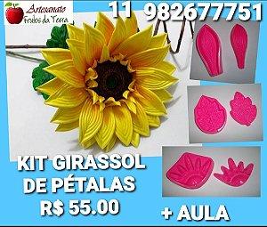 Kit frisador para flores Girassol de Pétalas