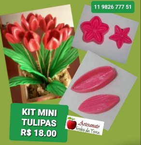 Kit frisadores Mini Tulipas