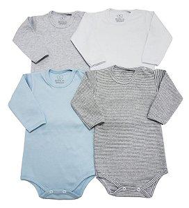 Kit Básico Azul Bebê c/ Mescla