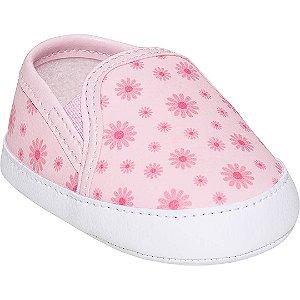 Slip Flores Rosa