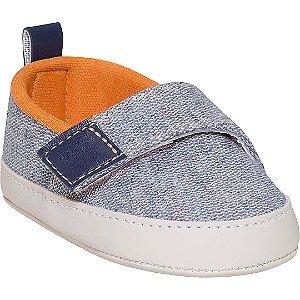 Tênis Bebê Jeans com Laranja