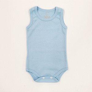 Body Regata Azul Bebê