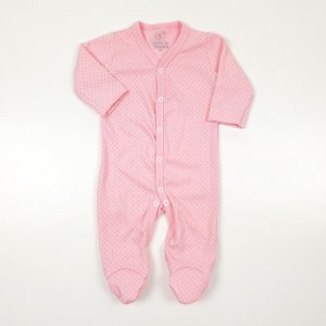 Macacão Pijama Poá Rosa