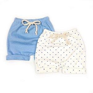 Kit Shorts Estrelinha com 2 unidades