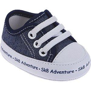 Tênis Bebê SK8 Azul Marinho