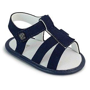 Sandália Bebê Azul Marinho