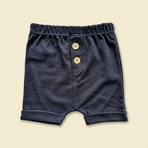 Shorts Braguilha Preto