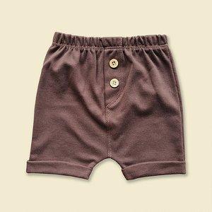 Shorts Braguilha Marrom
