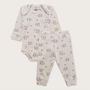 Pijama Canelado Unissex