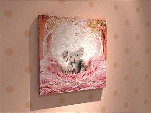 Quadros Infantis em canvas Tam.: 30x30cm - Várias Opções