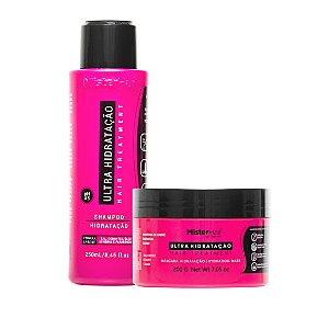 KIT Ultra Hidratação (Shampoo e Máscara) - Mister Hair