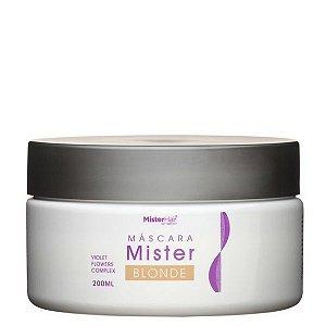 Máscara Mister Blonde - Mister Hair - 200ml