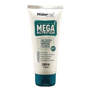 Condicionador Mega Nutrition - Mister Hair - 200ml