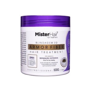 Armor Fiber - Blindagem 3D Capilar - Hair Treatment - 500g