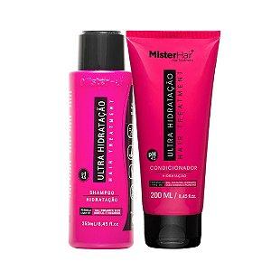 KIT Ultra Hidratação (Shampoo e Condicionador) - Mister Hair