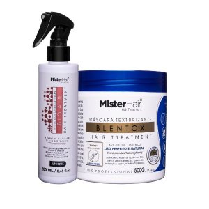 Kit Liso Perfeito (Blentox + Bio Air) - Mister Hair