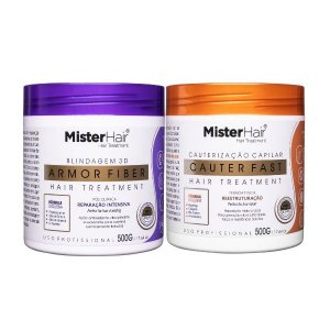 Kit Tratamento Profundo (Cauter Fast + Armor Fiber) - Mister Hair