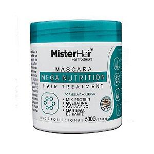 Máscara Mega Nutrition - 500g - Mister Hair