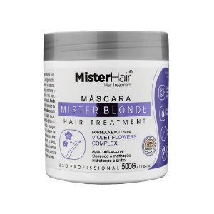 Máscara Mister Blonde - 500g - Mister Hair
