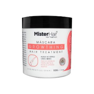 Máscara Growthing Hair Treatment - Mister Hair - 500g