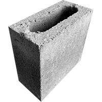 Meio Bloco estrutural 2,5 mpa 09x19x19