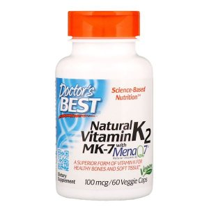 Vitamina K2 MK-7 Doctor's Best 100mcg 60 Softgels