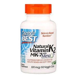Vitamina K2 MK-7 Doctor's Best 100mcg 60 Softgels