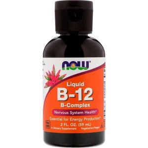 Vitamina B12 Líquida NOW FOODS 59ml