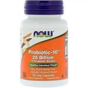Probiótico-10 25 Bilhões 50 Cápsulas