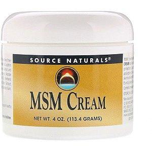 Creme de MSM Source Naturals (113,4g)