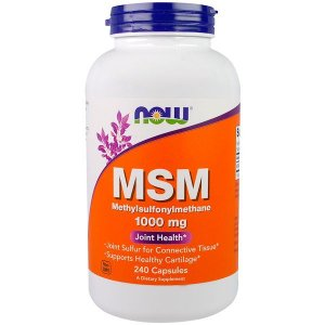 MSM 1000mg 240 Cápsulas NOW FOODS