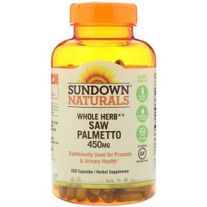Saw Palmetto 450mg 250 Cápsulas