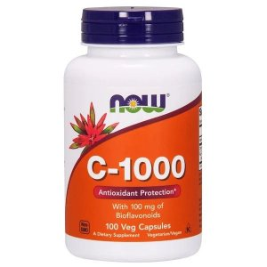 C-1000 Now Foods 100 Cápsulas Veganas