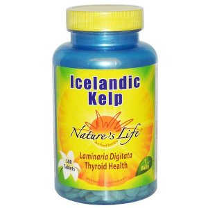 KELP Nature's Life 500 Tablets