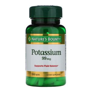 Potássio Nature's Bounty 99mg 100 Tablets