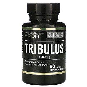 California Gold Nutrition, Tribulus, Extrato Padronizado, Mínimo de 45% de Saponinas, 1.000 mg, 60 Comprimidos