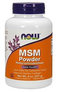 MSM Powder Now Foods 227g