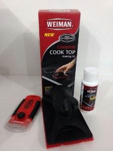 Kit Completo de Limpeza para Chapa Vitrocerâmica