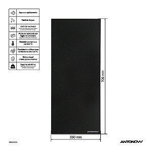 Chapa Vitrocerâmica 70 x 30 cm