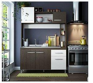 Cozinha Compacta Manu Soluzione,5 Portas e 1 Gaveta