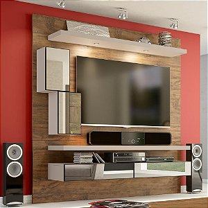 Painel/Home Suspenso p/ TV Com Espelho TB109E - Nobre/Fendi
