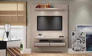 Painel/Home Suspenso para TV C/ Espelho e Led TB106E -  Fendi