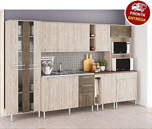 Cozinha Modulada Atraente 8 Peças - Arte Cass Elmo