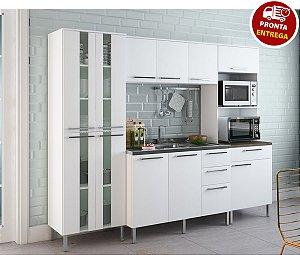 Cozinha Modulada 4 Peças Atraente - Arte Cass Branca