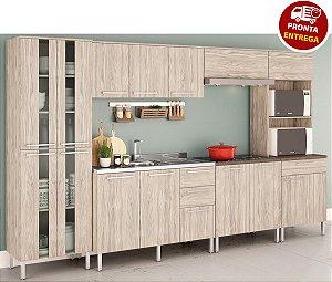 Cozinha Modulada Atraente 6 Peças - Arte Cass Elmo