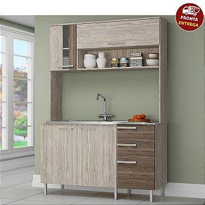 Cozinha Compacta 670 - Arte Cass Elmo/Carvalho