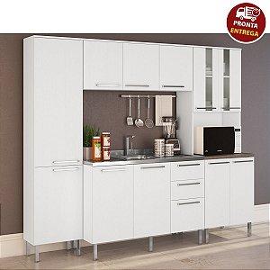 Cozinha Compacta Lara 4 Peças - Arte Cass Branca